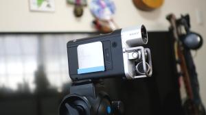 カメラに水平器1